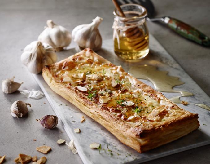 갈릭고르곤졸라 피자